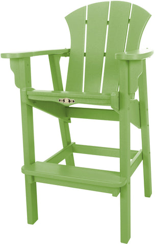 Pawleys Island Hammocks SRHDC1LM Sunrise High Dining Chair-Lime (W 29 x H 49.5 in.) - Peazz.com