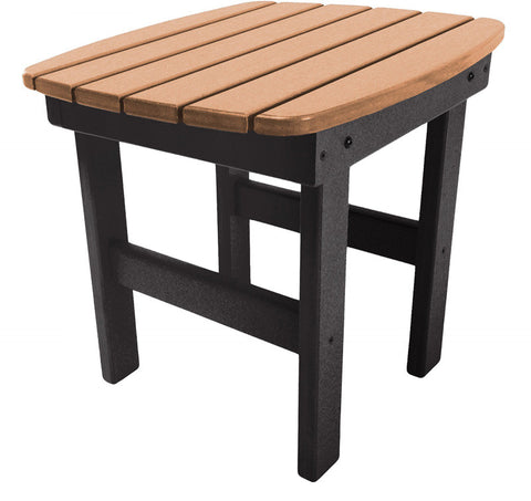 Pawleys Island Hammocks ST1BLKCD Side Table-Black/Cedar (W 17 x H 39 in.) - Peazz.com - 1