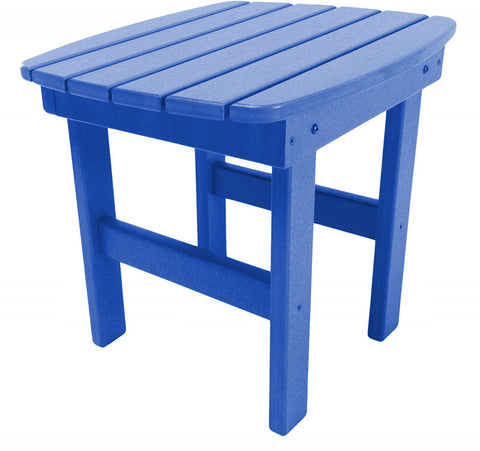 Pawleys Island Hammocks ST1BLU Side Table-Blue (W 17 x H 39 in.) - Peazz.com