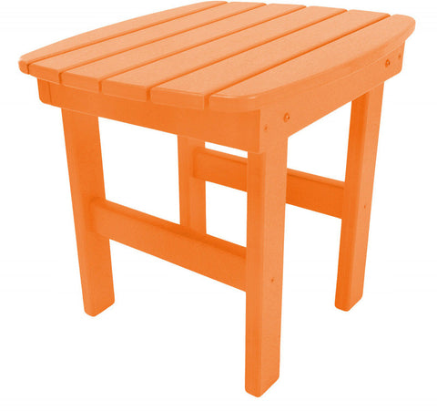 Pawleys Island Hammocks ST1OR Side Table-Orange (W 17 x H 39 in.) - Peazz.com