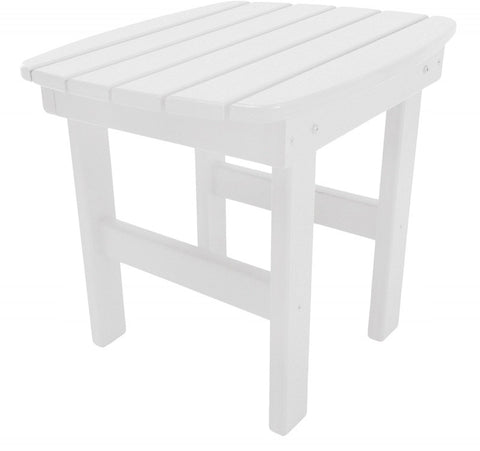 Pawleys Island Hammocks ST1WH Side Table-White (W 17 x H 39 in.) - Peazz.com - 1