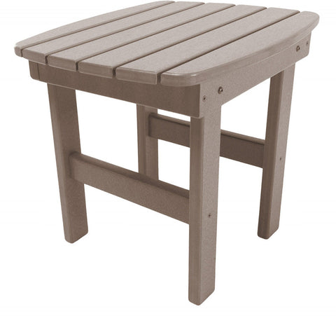 Pawleys Island Hammocks ST1WW Side Table-Weatherwood (W 17 x H 39 in.) - Peazz.com - 1