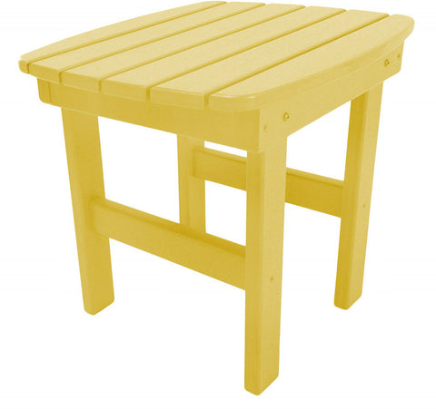 Pawleys Island Hammocks ST1YL Side Table-Yellow (W 17 x H 39 in.) - Peazz.com