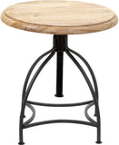Ren-Wil TA153 Fairmount Collection Natural / Black Powder Coated Finish
