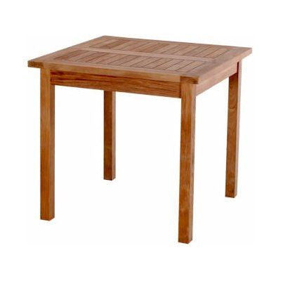 "Anderson Teak TB-035SQ Bahama 35"" Square Table - Peazz.com"