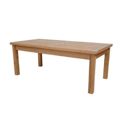 "Anderson Teak TB-4824CT Montage Coffee Table  48""W 24""D 18""H - Peazz.com"