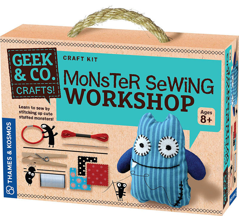 Thames & Kosmos 553008 Monster Sewing Workshop