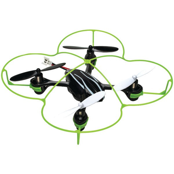 Cobra Rc Toys 908723 2.4ghz Mini Ufo Quad Copter With Protective Frame
