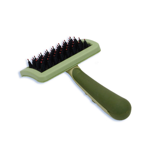 Safari W422-NCL00 Nylon Coated Tip Dog Brush for Shorthaired Breeds