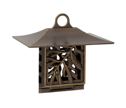 Whitehall Products Pinecone Suet Feeder, French Bronze