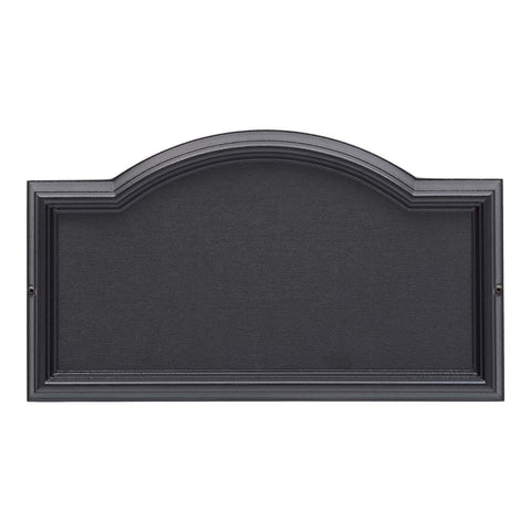 Whitehall Products Standard Wall DeSign-it Arch Plaque Frame, Black