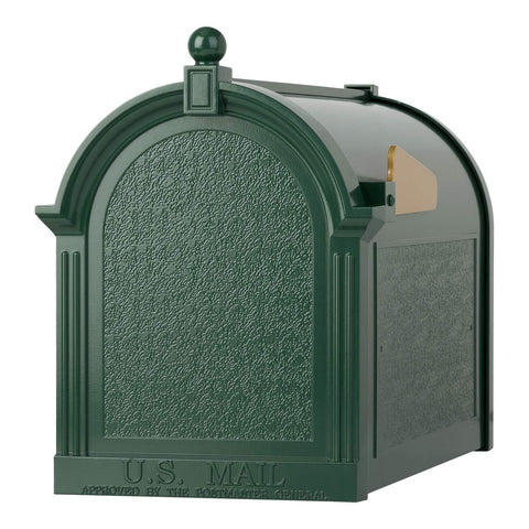 Whitehall Products Capital Mailbox, Green