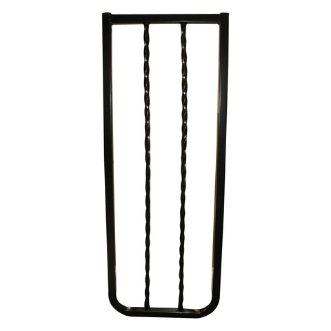 Cardinal Gates WI30-BK Wrought Iron Decor Hardware Mounted Pet Gate
