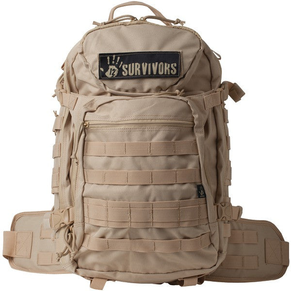 12 Survivors Ts41000t Tactical Backpack (tan)