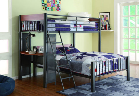 Homelegance B2008TF-1 Division Collection Color Grey Metal - Peazz.com