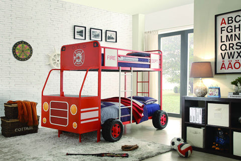 Homelegance B2023-1 Engine One Collection Color Red - Peazz.com