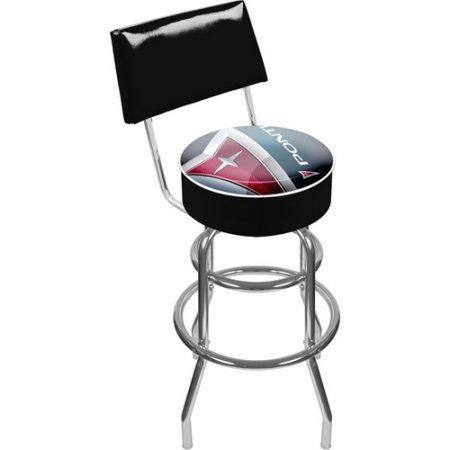 Gm1100-Pc Pontiac Padded Swivel Bar Stool With Back