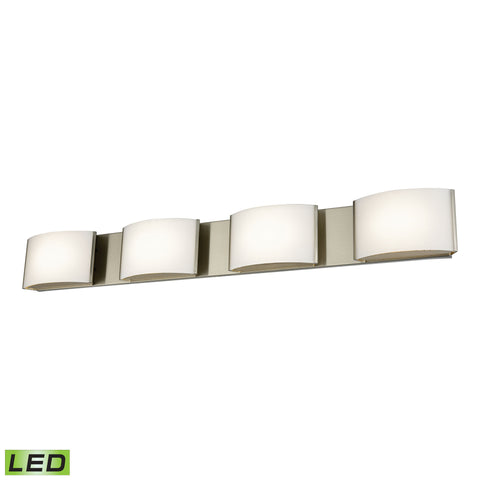Alico BVL914-10-16M Pandora LED Collection Satin Nickel Finish Vanity