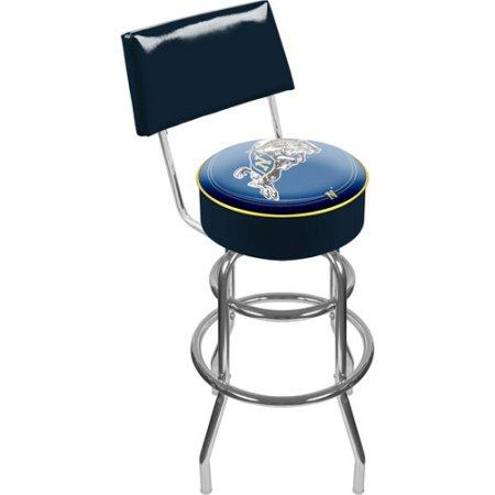 United States Naval Academy Lrg1100-Usna United States Naval Academy Padded Bar Stool With Back