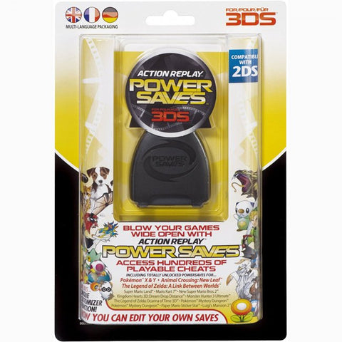 3DS Cheat Codes Power Saves Action Replay (DUS0375-2)