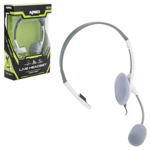 Xbox 360 Wired LiveChat Headset (KMD-360-1521)