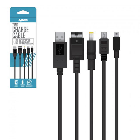 Universal 7 in 1 Portable Charge Cable (KMD-UNI-5754)