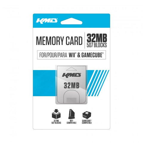 Wii/Gamecube 32MB Memory Card (KMD-W-1583)