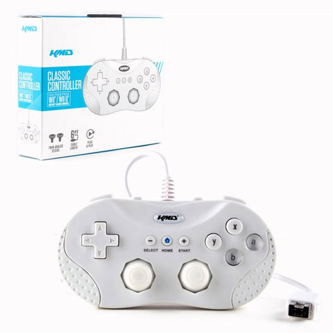 Wii U Classic Wired Controller - White (KMD-W-9714)