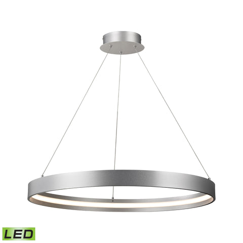 Alico LC1215-10-98 Galleria Collection Aluminum Finish Pendant