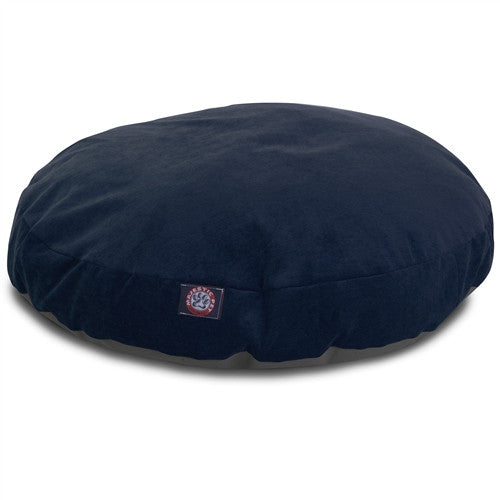 Majestic Pet Products Navy Villa Collection Small Round Pet Bed
