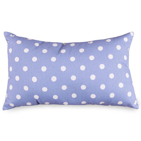 Majestic Home Goods 85907210636 Lavender Polka Dots Small Pillow 12x20 - Peazz.com