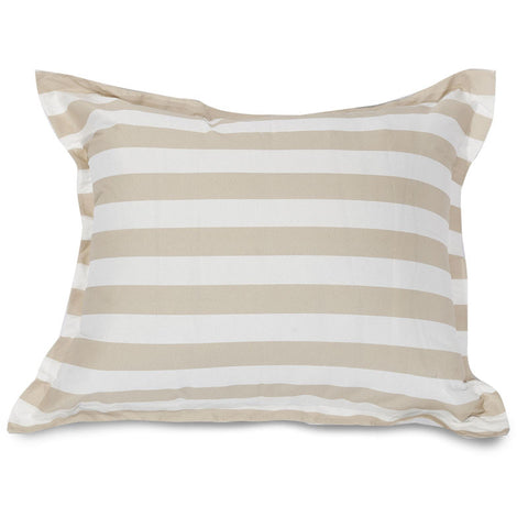 Floor Pillows Home Goods : Majestic Home Goods 85907250066 Vertical Stripe Sand Floor Pillow