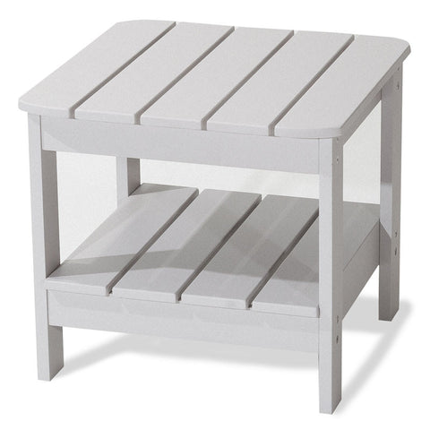 Majestic Home Goods 85907290063 Laguna Collection Gray Adirondack Table - Peazz.com