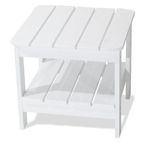 Majestic Home Goods 85907290064 Laguna Collection White Adirondack Table - Peazz.com