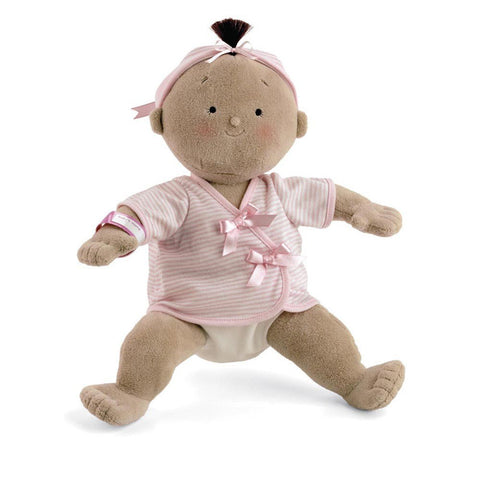 North American Bear 2856 Rosy Cheeks Girl Tan Toys