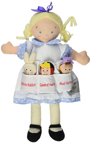 North American Bear 6623 Dolly Pockets Alice In Wonderland Toys