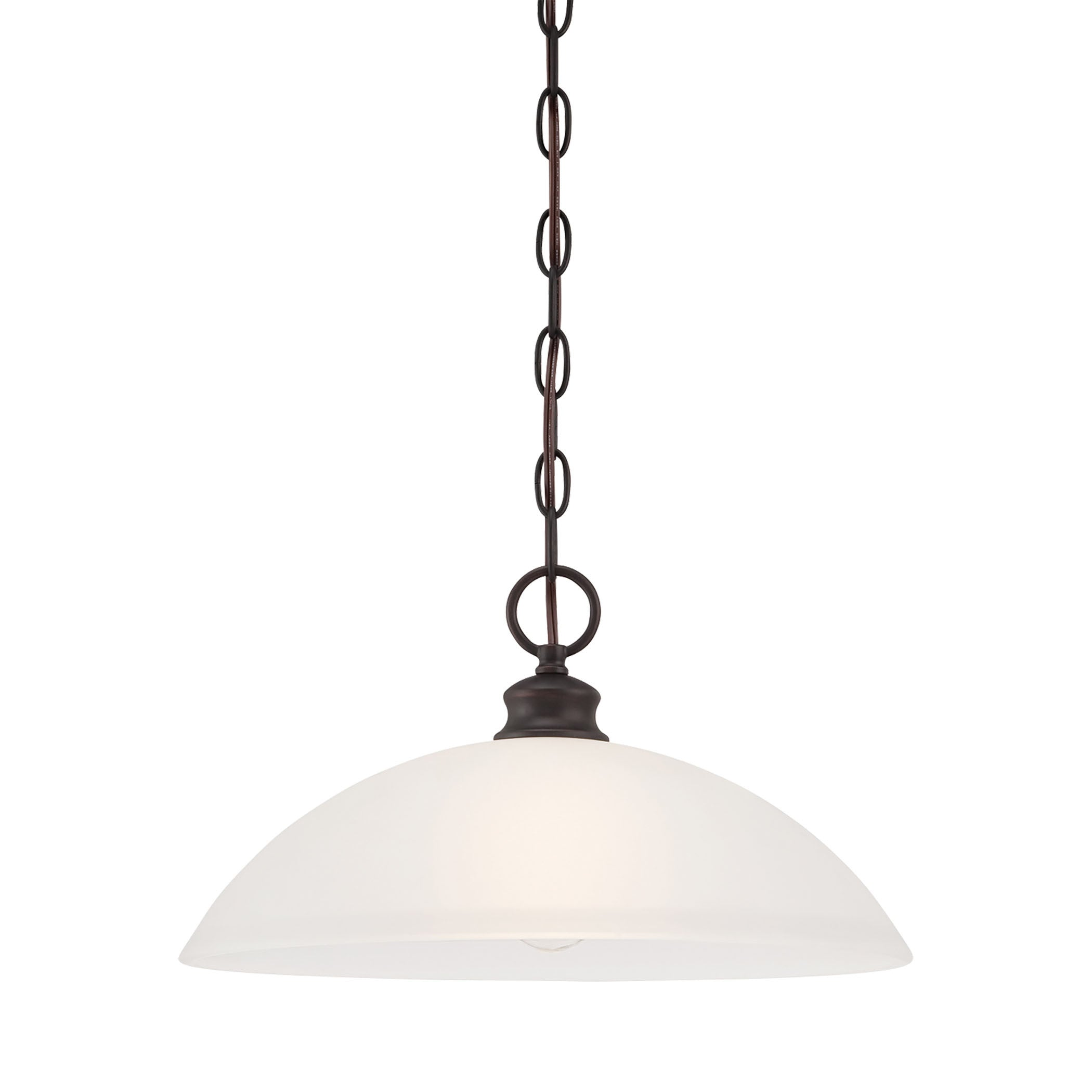Thomas Lighting TC0018704 Haven Collection Espresso Finish Traditional Pendant THO-TC0018704