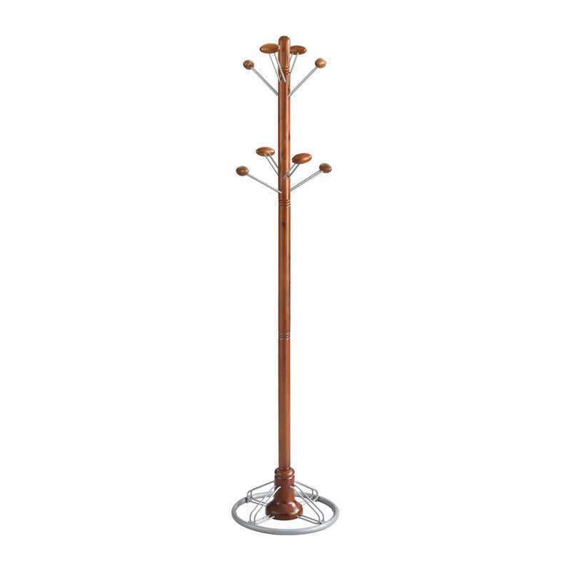 Safco Modern Coat Rack Tree in Cherry 4240CY