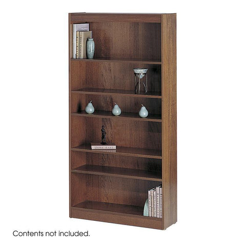 "Safco 1513MOC 6-Shelf Veneer Baby Bookcase, 30""W - Peazz Furniture"
