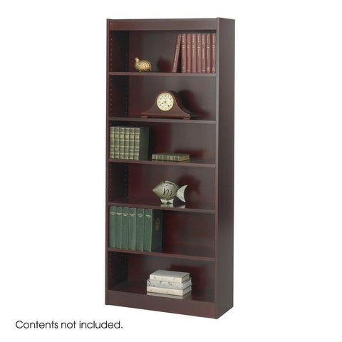 "Safco 1513MHC 6-Shelf Veneer Baby Bookcase, 30""W - Peazz Furniture"