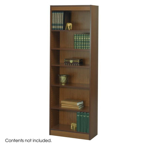 "Safco 1512CYC 6-Shelf Veneer Baby Bookcase, 24""W - Peazz Furniture"