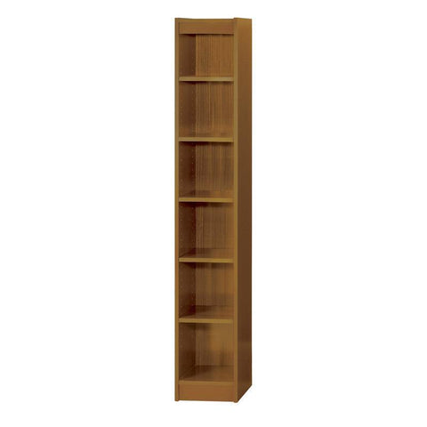 "Safco 1511MOC 6-Shelf Veneer Baby Bookcase, 12""W - Peazz Furniture"