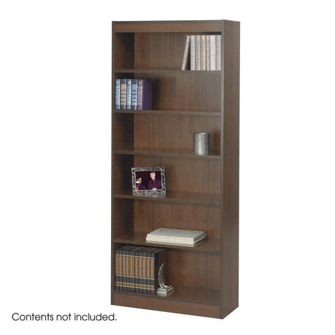 "Safco 1513WLC 6-Shelf Veneer Baby Bookcase, 30""W - Peazz Furniture"