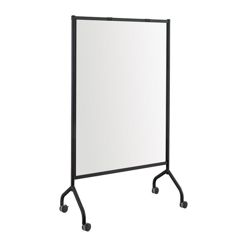 Safco 8511BL Impromptu® Full Whiteboard Screen, 42 x 72