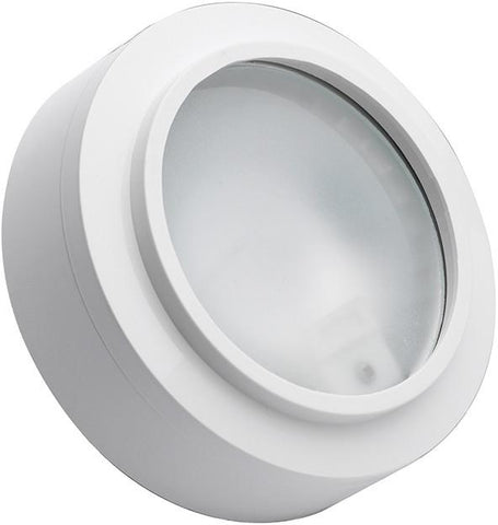 Cornerstone A721/40 Aurora 1 Light Xenon Disc Light In White - PeazzLighting