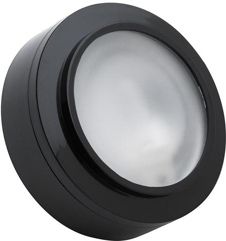 Cornerstone A721/60 Aurora 1 Light Xenon Disc Light In Black - PeazzLighting