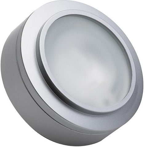 Cornerstone A721/29 Aurora 1 Light Xenon Disc Light In Stainless Steel - PeazzLighting