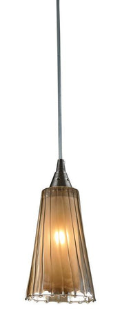 ELK Lighting Encapsulate 1- Light Pendant In Satin Nickel - 31148/1 - PeazzLighting