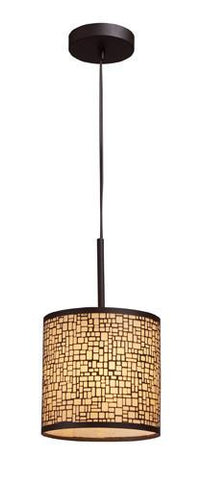 ELK Lighting 31045-1 Medina One Light Pendant In Aged Bronze - PeazzLighting