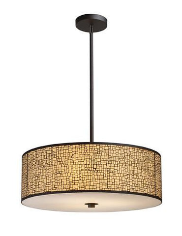ELK Lighting 31047-5 Medina Five Light Pendant In Aged Bronze - PeazzLighting